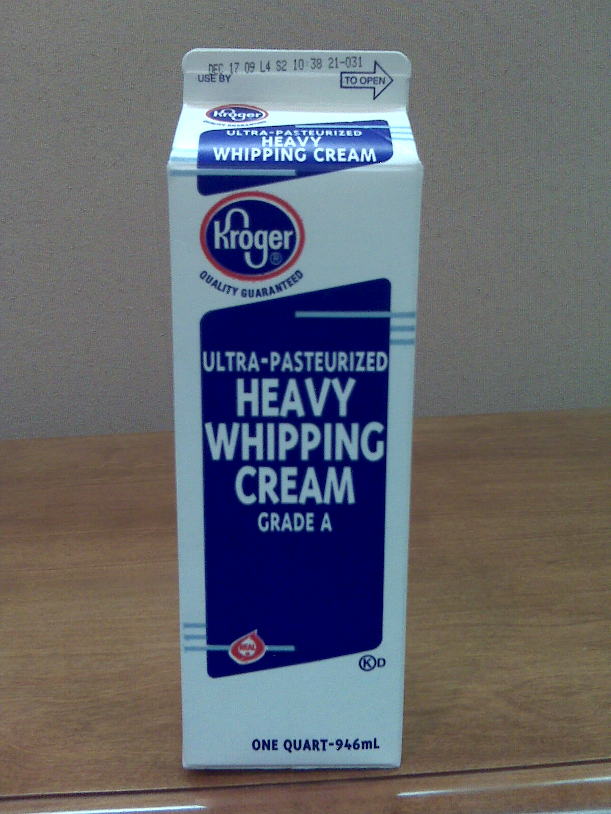 Recall: Great Value/Kroger Half & Half and Heavy Whipping ...